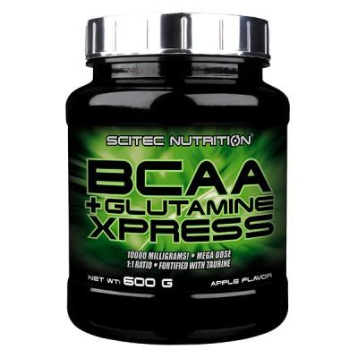 SCITEC BCAA+Glutamine Express, Omena, 600g