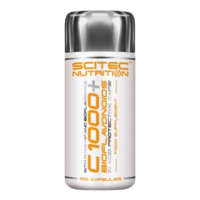 SCITEC C-1000+Bioflavonoid, 100 kaps.