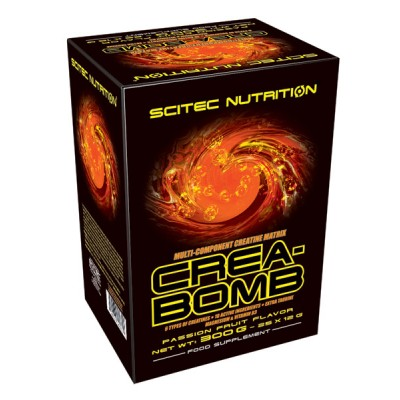 SCITEC Crea-Bomb 2.0 BOX, Passion Fruit, 300g