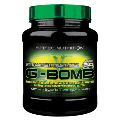 SCITEC G-Bomb 2.0, Ice Tea, 308g