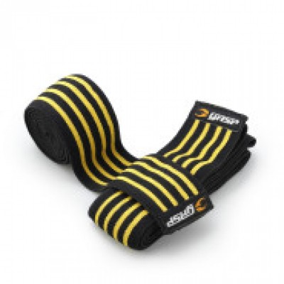 GASP Knee Wraps - Black/Flame
