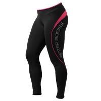 BB Fitness Long Tights - Hot Pink, (Vain XS-koko)