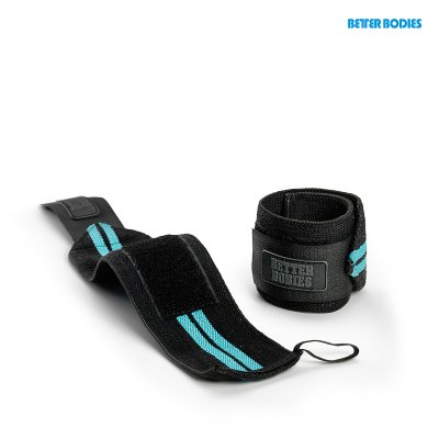 BB womens Wrist Wrap - Aqua Blue