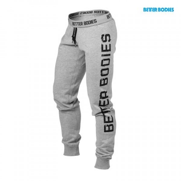 BB Slim Sweatpant - Grey Melange 1e2e41d592