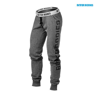 BB Slim Sweatpant - Antracite Melange, (Vain M-koko)